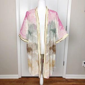 Soft Surroundings | Open Style Cardi Kimono OS G12